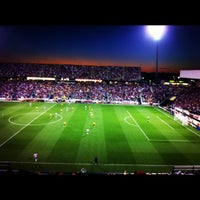 Photo taken at MAPFRE Stadium by Jaclyn E. on 9/12/2012
