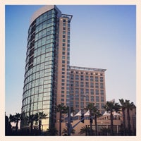 Photo taken at Omni San Diego Hotel by Adam S. on 3/4/2012
