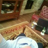 Photo taken at Hotel Kazbek restaurant & bar by Esa A. on 5/16/2012