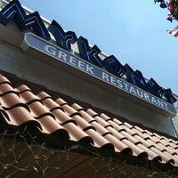 Photo taken at Mykonos by Danielle W. on 7/1/2012