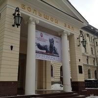 Photo taken at Московская государственная консерватория им. П. И. Чайковского by Marina on 3/2/2012