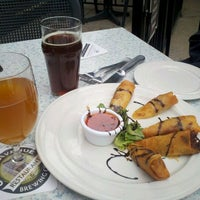 Photo taken at Court Avenue Restaurant & Brewing Company by Annie D. on 4/21/2012