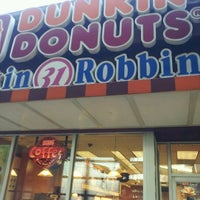 Photo taken at Dunkin' Donuts/ Baskin (31) Robbins by Kevin P. on 4/6/2012