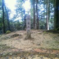 Photo taken at 郡山城本丸跡 by tamasaburou1982 on 8/13/2012
