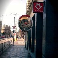Photo taken at Metro =C= I. P. Pavlova by Yauhen S. on 3/18/2012