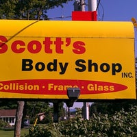 Photo taken at Scotts Body Shop by Adam S. on 8/23/2012