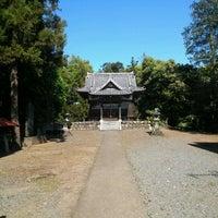 Photo taken at 高負彦根神社(ポンポン山) by Tomohiro.Y on 5/12/2012