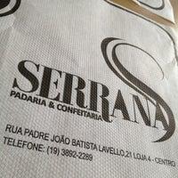 Photo taken at Padaria e Confeitaria Serrana by glacus a. on 3/12/2012