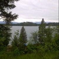Photo taken at Glacier Campground by Trevor G. on 6/11/2012