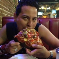 Photo taken at Old Manhattan Pizza by Ramses T. on 7/30/2012