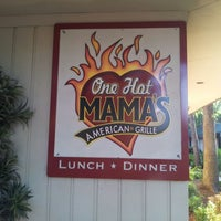Photo taken at One Hot Mama's by Clinton™ on 5/26/2012