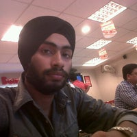 Photo taken at Dominos Pizza by Ishwar S. on 6/19/2012