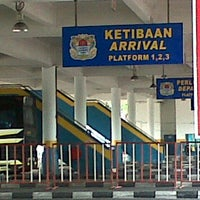 Photo taken at Sungai Nibong Express Bus Terminal by misrozie h. on 7/18/2012