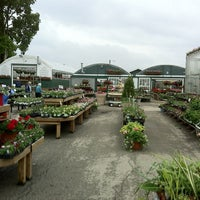 Photo taken at Wendell Niepagen Greenhouses and Garden Center by Mark S. on 5/8/2012