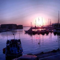 Photo taken at Port of Heraklion by Yiannis S. on 7/27/2012