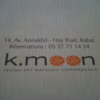 Photo taken at K.moon by Fadwa D. on 7/11/2012