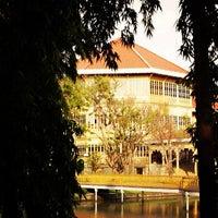Photo taken at Vimanmek Mansion by Khemmachat M. on 9/1/2012