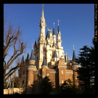 Photo taken at Cinderella Castle by Mizuki N. on 2/18/2012