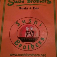 Photo taken at Sushi Brothers by James H. on 2/3/2012