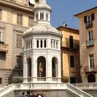 Photo taken at Piazza della Bollente by Dina on 9/8/2012