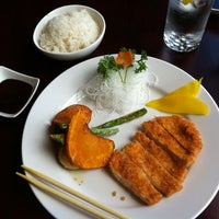 Photo taken at Aki Japanese Cuisine by Kelly F. on 7/20/2012