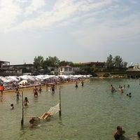 Photo taken at Escape Beach Club by Barbaros E. on 7/22/2012