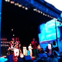 Photo taken at Vancouver International Jazz Festival by Mitsuhiro K. on 7/2/2012