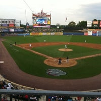 Photo taken at Coca-Cola Park by Tina B. on 8/11/2012