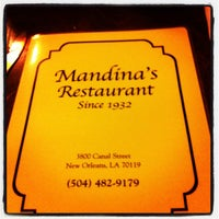 Photo taken at Mandina's Restaurant by Tiffany S. on 9/7/2012