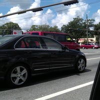 Photo taken at W 9 Mile Rd (ALT US-90) & Pine Forest Rd by Ivan M. on 7/15/2012