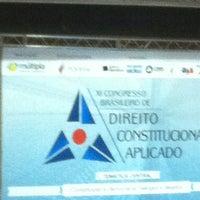 Photo taken at Auditório Yemanjá by Pattie C. on 5/18/2012