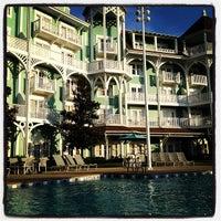 Photo taken at Disney's Beach Club Villas by Jeff T. on 6/2/2012