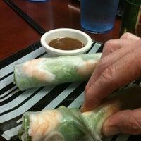 Photo taken at Saigon Vietnamese Restaurant by Katie P. on 5/19/2012