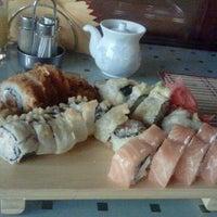Снимок сделан в Аригато, кафе, парк Европа пользователем Анастасия К. 4/20/2012