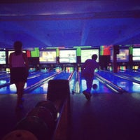 Photo taken at Bowlmor Lanes Union Square by Alexis G. on 8/12/2012