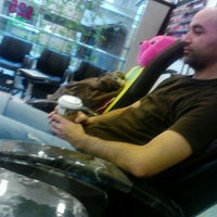 Photo taken at Le Nails by Cassie G. on 2/13/2012
