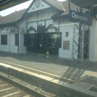 Photo taken at Stazione Chivasso by Abdelrahman M. C. on 6/30/2012