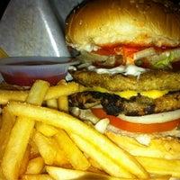 Photo taken at Backyard Grill Burger by NadiaYaya on 5/31/2012