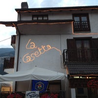 Photo taken at La Casetta del Gad by Vincent S. on 8/12/2012