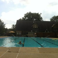 Photo taken at Holiday Park Swimming Pool by Tim D. on 8/21/2012