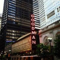 Photo taken at Goodman Theatre by Steve R. on 5/12/2012