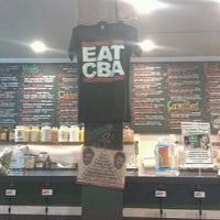 Photo taken at Chicago Bagel Authority by Kirsten J. on 3/24/2012