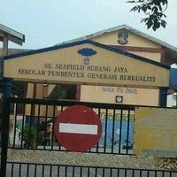 Photo taken at SK Seafield Subang Jaya by Acai on 2/27/2012
