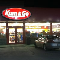 Photo taken at Kum & Go by Glenn C. on 3/10/2012