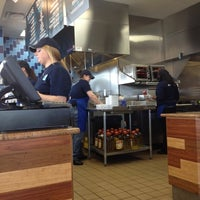 Photo taken at Elevation Burger by Thai T. on 3/30/2012