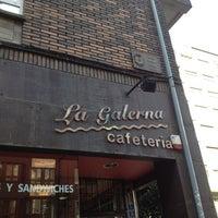 Photo taken at Cafetería La Galerna by Paloma H. on 2/22/2012