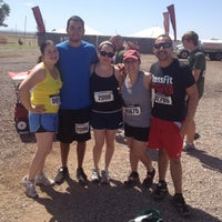 Photo taken at Warrior Dash Arizona by Paco C. on 4/29/2012