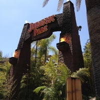 Photo taken at Jurassic Park The Ride by Ariel P. on 5/10/2012