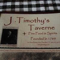 Photo taken at J. Timothy's Taverne by Tony F. on 6/24/2012