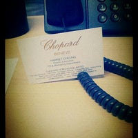 Photo taken at Chopard Hong Kong Office by Harriet C. on 3/30/2012